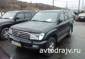 Toyota Land Cruiser, 2005 г.в. Мурманск