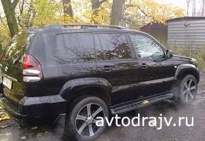 Toyota Land Cruiser, 2008 �.�. �����-���������