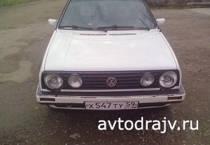 Volkswagen Golf, 1986 г.в. Пермь