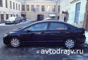 Honda Civic, 2007 г., г.Санкт-Петербург