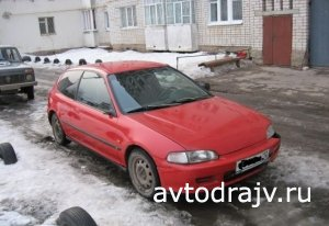 Honda Civic, 1994 г., г.Йошкар-Ола