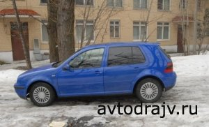 Volkswagen Golf, 1998 г., г.Москва