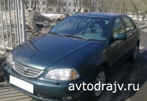 Toyota Avensis, 2002 г., г.Москва