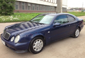 Mercedes-Benz CLK-класс 1998 г.в Санкт-Петербург
