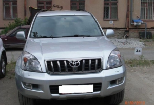 Toyota Land Cruiser 2008 г.в Екатеринбург