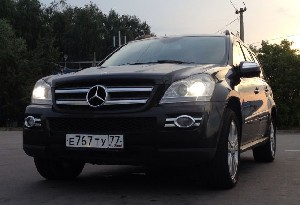 Mercedes-Benz GL-класс 2009 г.в. Москва