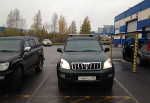 Toyota Land Cruiser Prado 2003 г.в. Санкт-Петербург