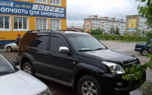 Toyota Land Cruiser Prado 2005 г.в. Коми Ухта