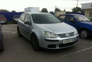 Volkswagen Golf 2007 г.в. Ростов-на-Дону