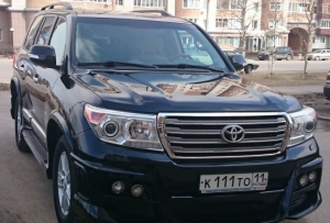 Toyota Land Cruiser 2012 Ухта