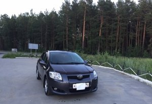Toyota Auris 2007 Асбест